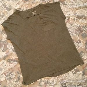Olive Green Essential Tee